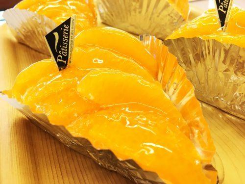 オレンジのタルト ケーキとビストロ美城