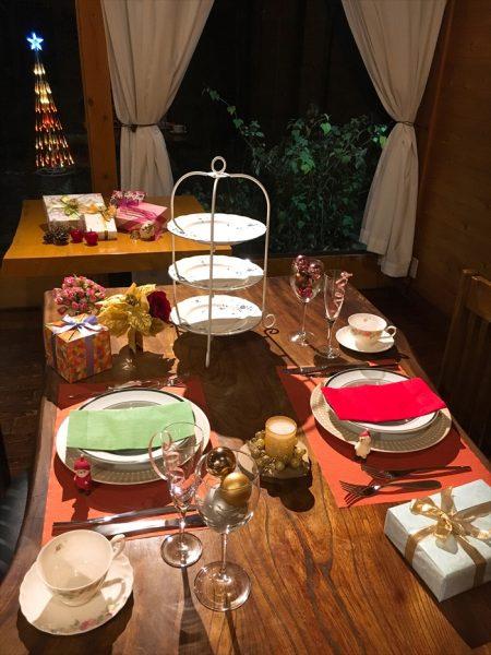 10周年クリスマスディナー
