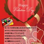 バレンタインデー♪大切なあの人へプレゼント